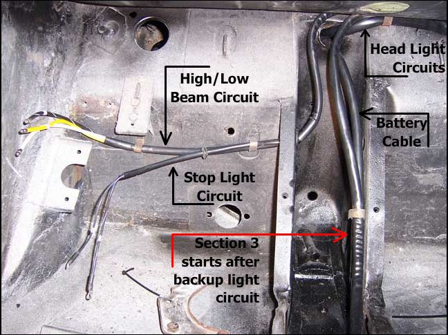 356 Porsche Technical Articles - Installing a wiring harness ... on