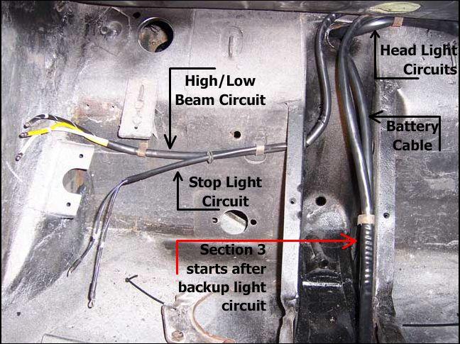 porsche 356 pre a wiring diagram 356 porsche technical articles installing a wiring harness part i  installing a wiring harness