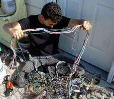 356 Porsche Technical Articles - Installing a wiring harness ... on porsche 68 911 wiring, porsche 356 coil wiring, porsche 356 oil pump, porsche 356 engine rebuild, porsche 356 tail lights, porsche 914 wiring harness, porsche 911 engine diagram, porsche 356 engine compartment, porsche 356 shift knob, porsche 356 muffler,